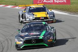 #86 HTP Motorsport Mercedes AMG GT3: Jimmy Eriksson, Dominik Baumann