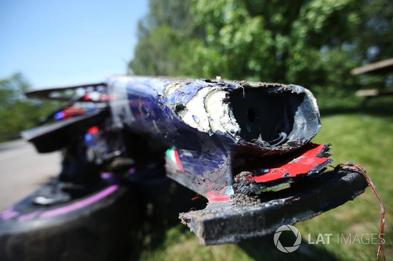 Verlierer: Carlos Sainz (Toro Rosso)