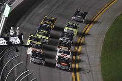Ben Rhodes, ThorSport Racing, Toyota; Christopher Bell, Kyle Busch Motorsports, Toyota