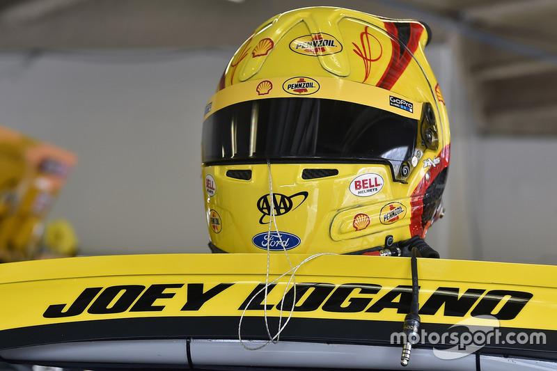 Helmet of Joey Logano, Team Penske Ford