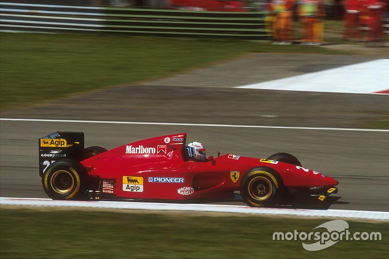 1994: Ferrari 412T1 (пять подиумов)