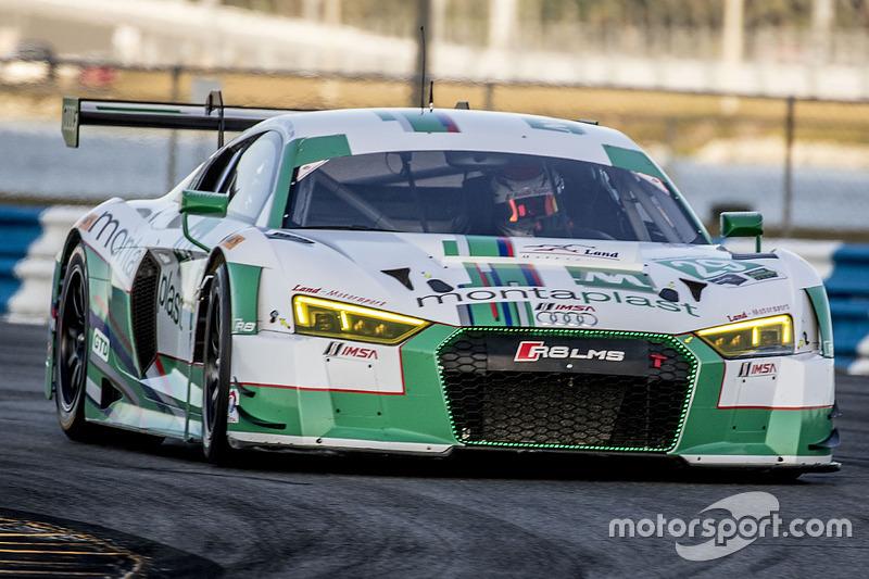 #29 Montaplast by Land-Motorsport Audi R8 LMS GT3: Connor de Phillippi, Christopher Mies