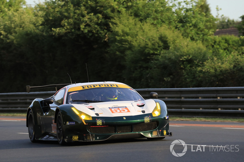 2. LMGTE-Am: #55 Spirit of Race, Ferrari 488 GTE
