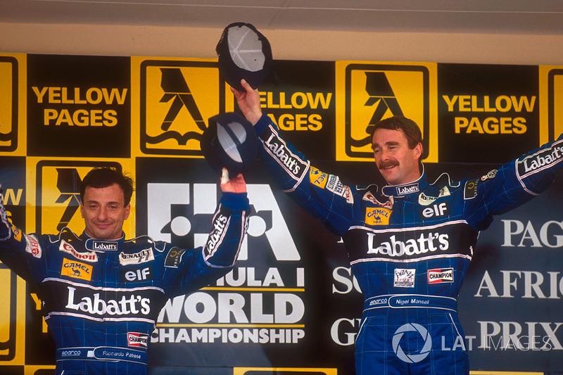 Mansell começou 92 de forma avassaladora, vencendo as cinco primeiras provas do ano. Apenas Schumacher conseguiu igualar tal feito, em 2004.