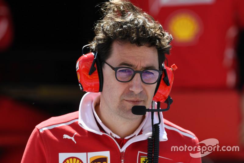 Mattia Binotto, Ferrari Jefe técnico