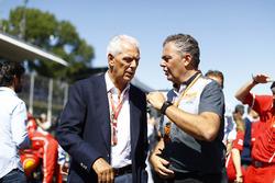 Marco Tronchetti Provera and Mario Isola of Pirelli