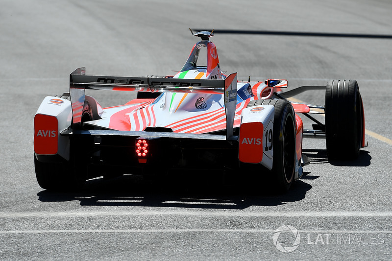 Felix Rosenqvist, Mahindra Racing at Montreal ePrix