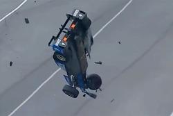 Crash: Scott Dixon, Chip Ganassi Racing, Honda (Screenshot)