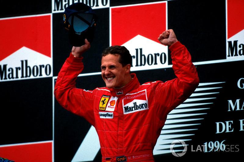 Michael Schumacher - Grand Prix d'Espagne (six victoires)