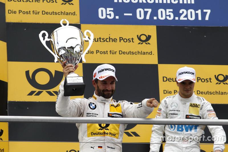 Подіум: друге місце Тімо Глок, BMW Team RMG, BMW M4 DTM