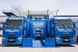 Renntransporter: Team Suzuki MotoGP