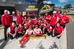Roger Penske team owner, Scott McLaughlin, Team Penske Ford, Fabian Coulthard, Team Penske Ford