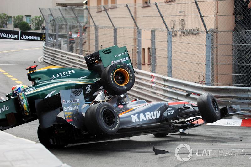 Монако 2010: аварія Труллі та Чандока