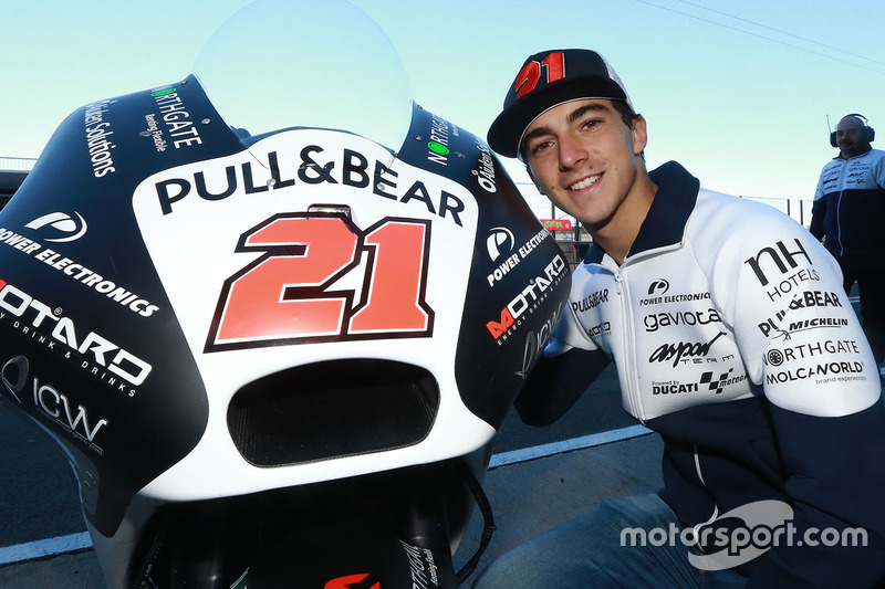 Francesco Bagnaia, Aspar MotoGP Team