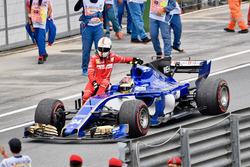 Sebastian Vettel, Ferrari accetta un passaggio da Pascal Wehrlein, Sauber C36