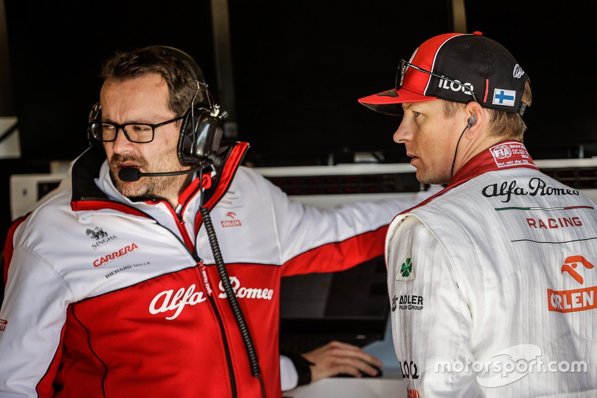Julien Simon-Chautemps, Senior F1 Race Engineer with Kimi Räikkönen, Alfa Romeo