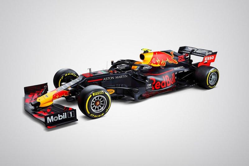 Red Bull presentatie