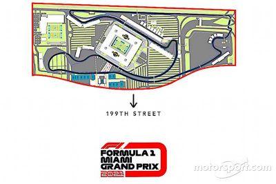 Miami GP Track layout