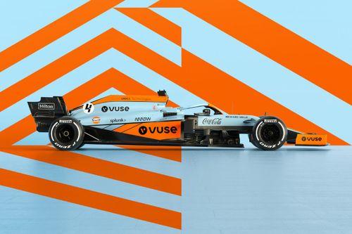 McLaren Gulf - Prezentacja barw