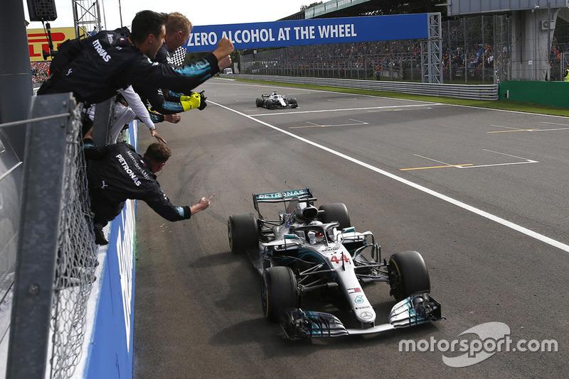 14. GP Italia - Pemenang: Lewis Hamilton