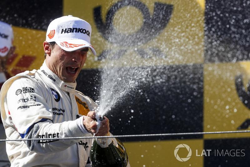 Podium: Second place Bruno Spengler, BMW Team RBM