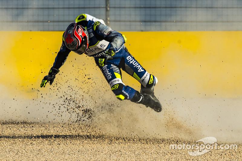 Jordi Torres, Avintia Racing crash