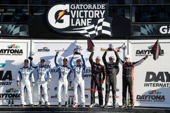 Podium: #73 LA Honda World Racing Honda Civic TCR, TCR: Shelby Blackstock, Colin Mullan, Mat Pombo, #37 LA Honda World Racing Honda Civic TCR, TCR: Tom O'Gorman, Mike LaMarra, N. Galante, J. Vance , J. Salinsky