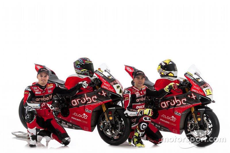 Chaz Davies, Aruba.it Racing-Ducati SBK Team, Alvaro Bautista, Aruba.it Racing-Ducati SBK Team