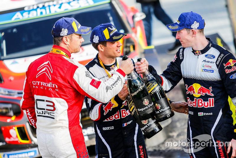 Sébastien Loeb, Sébastien Ogier, Elfyn Evans