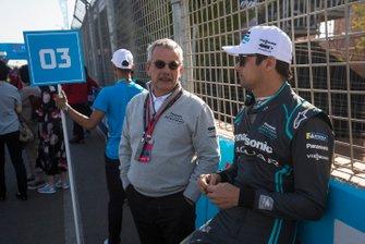 Nelson Piquet Jr., Jaguar Racing, sur la grille