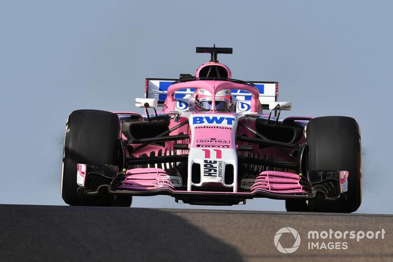 11,43 - Sergio Perez