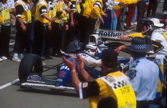 Ganador de la carrera Nigel Mansell, Williams FW16B