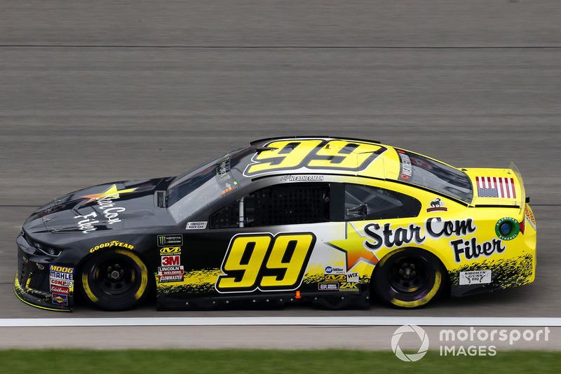 37. Kyle Weatherman, StarCom Racing, Chevrolet Camaro StarCom Fiber