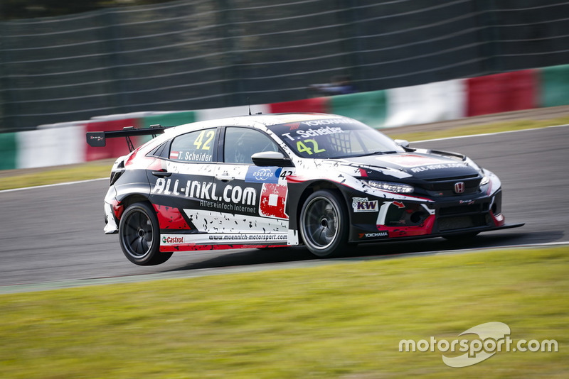 Timo Scheider, ALL-INKL.COM Münnich Motorsport Honda Civic Type R TCR