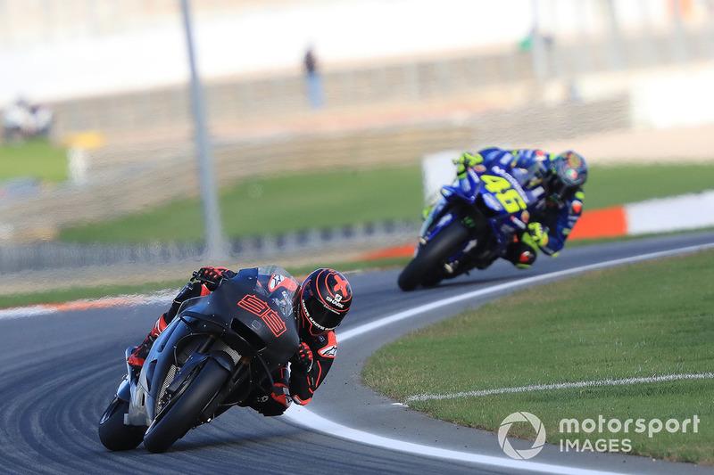 Jorge Lorenzo, Respol Honda Team, Valentino Rossi, Yamaha Factory Racing