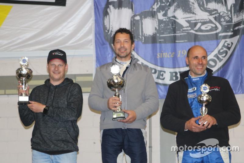 Patrick Drack, Albin Mächler, Fabrizio Ceresa, Podium E1+3500