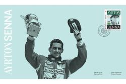 Briefmarke: Ayrton Senna