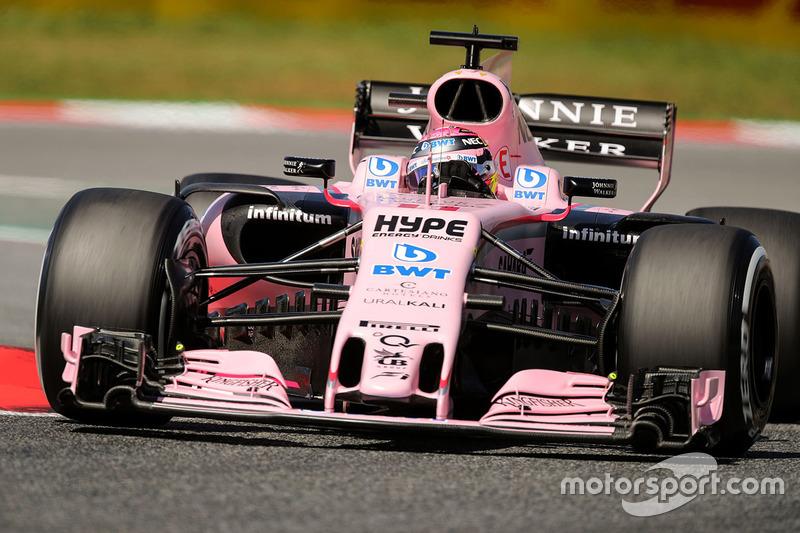 7. Серхіо Перес, Force India — 34