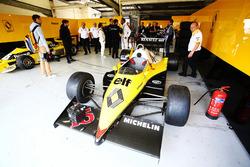 Renault Sport F1 Team F1 Historic, Franck Montagny