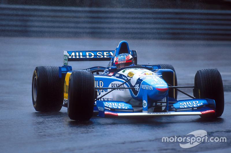 1995. Переможець: Міхаель Шумахер, Benetton-Renault