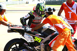 Cal Crutchlow, Team LCR Honda with marshal