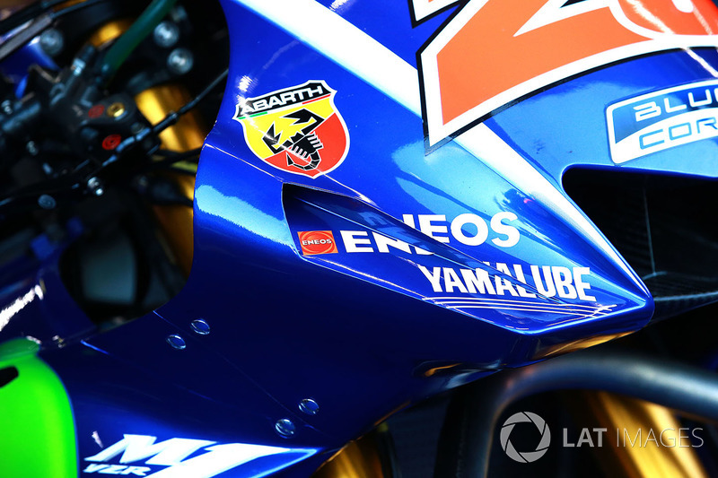 Maverick Viñales, Yamaha Factory Racing fairing detail