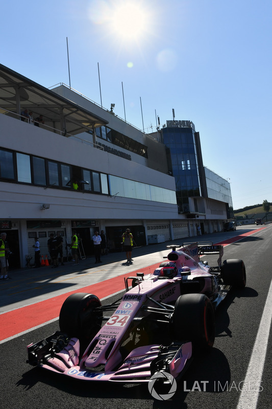 Микита Мазепін, Force India VJM10