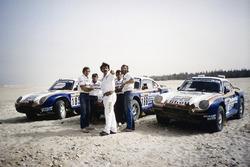 Экипажи Porsche 959