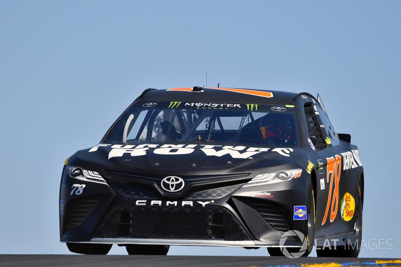 Martin Truex Jr Furniture Row Racing Toyota At Sonoma
