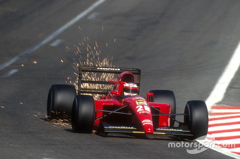 Формула 1. Гран При Бельгии, 1991 год, Жан Алези