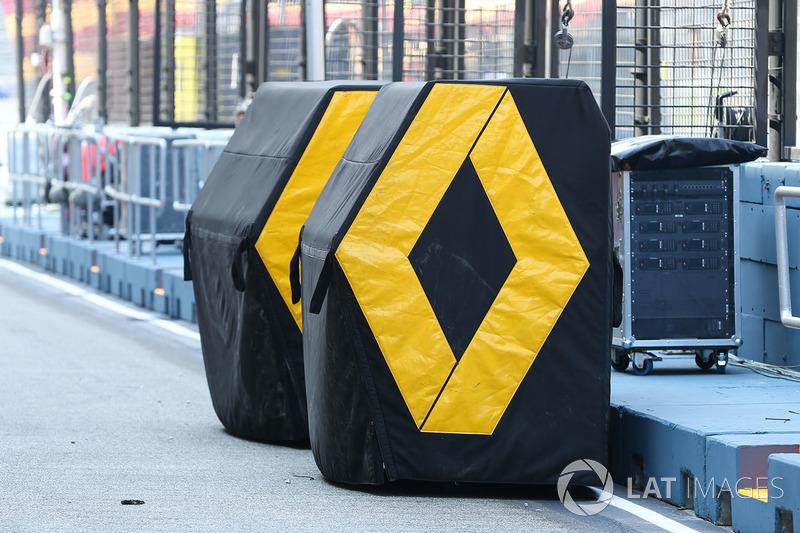 Renault Sport F1 Team equipment