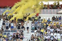 Fans von Valentino Rossi, Yamaha Factory Racing