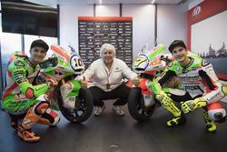 Luca Marini, Forward Racing y Lorenzo Baldassarri, Forward Racing con la nueva decoración
