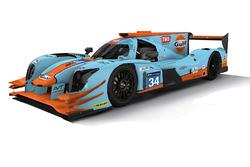Gulf-Design von Tockwith Motorsports